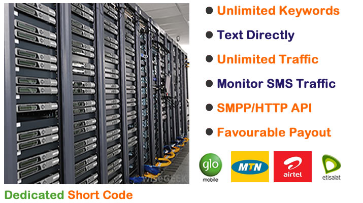 Dedicated Short Codes in Nigeria