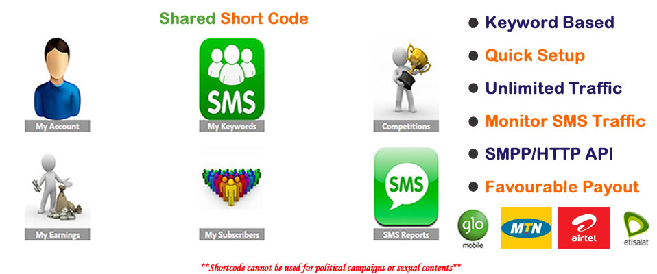 Shared Short Codes in Nigeria